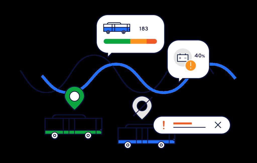 Mobeefleet fournit des informations et prévisions pour tous les véhicules, connectés ou non