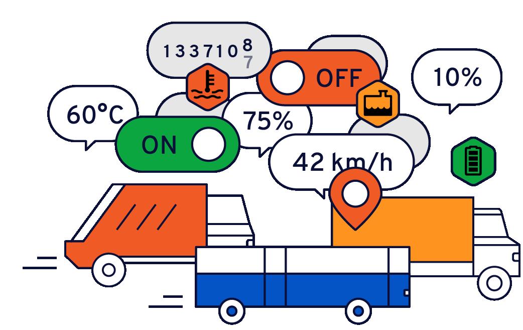Vos véhicules génèrent en permanence beaucoup de données.